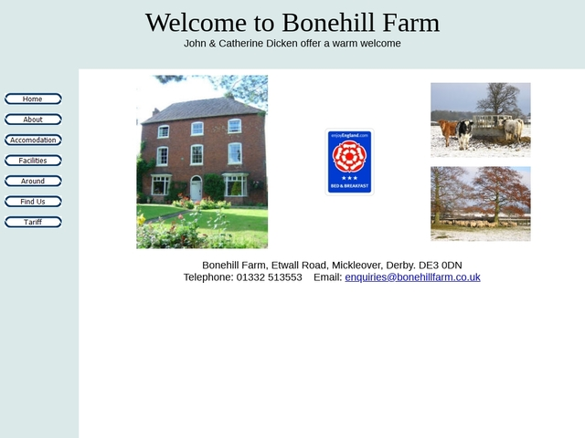 BONEHILL FARM, MICKLEOVER, DERBY.