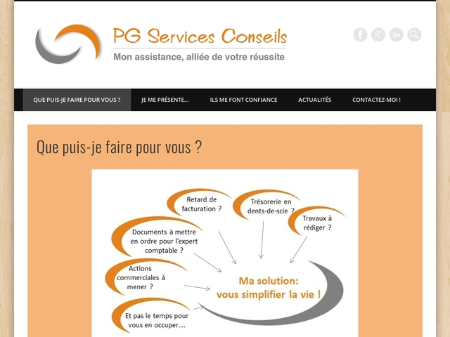 TREPT - PG SERVICES CONSEILS assistance et gestion administrative