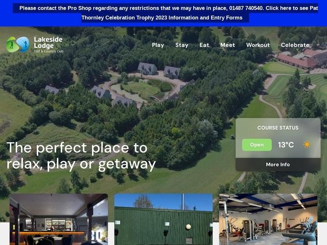 Lakeside Lodge - Pidley - Cambridgeshire - England.