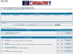 Forum intégralsport