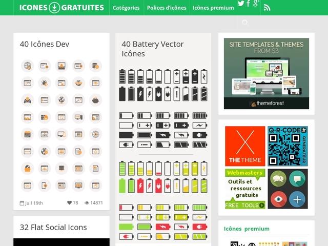 Icônes gratuites.com