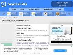 Support du web