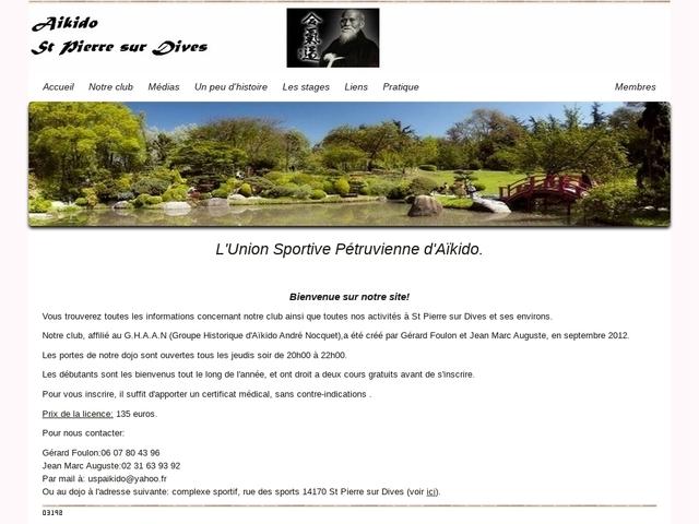 USP Aikido Saint Pierre sur dives
