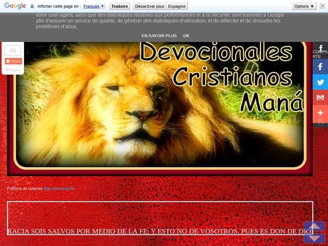 Devocionales Cristianos Mana