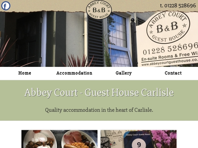Abbey Court Guest House - Carlisle - Cumbria - England.