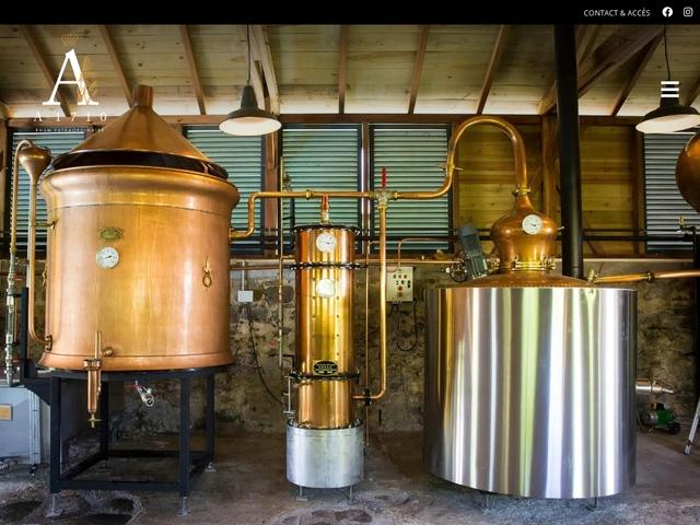 Le Domaine A1710 Distillerie de RHUM Habitation Simon Martinique