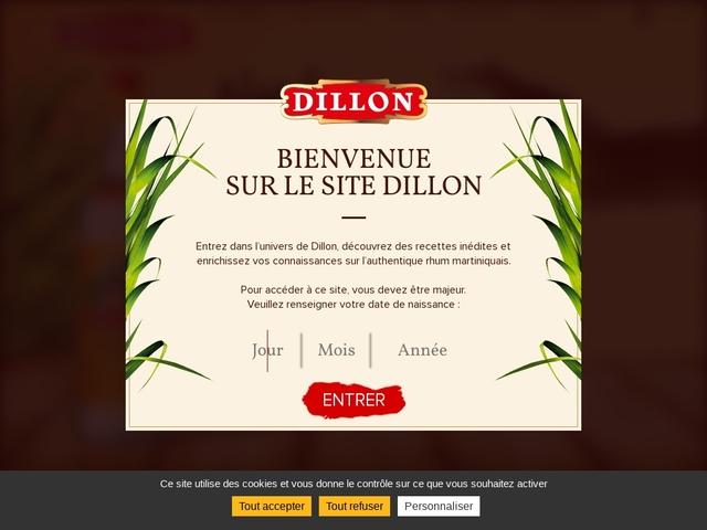 Rhum Dillon Distillerie agricole Fort-de-France Martinique