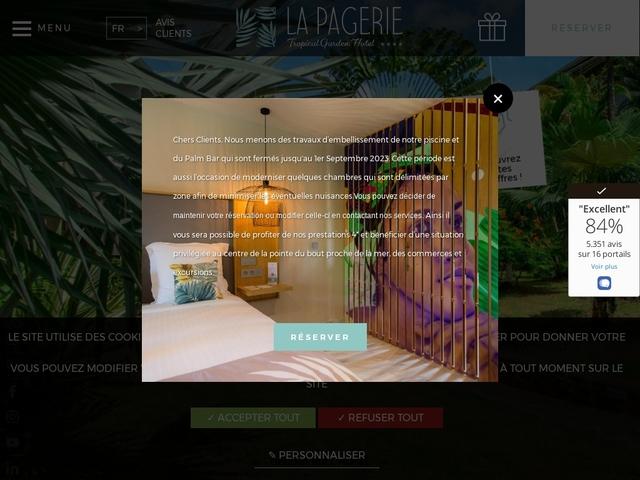 La Pagerie Hotel - Trois Ilets - Martinique