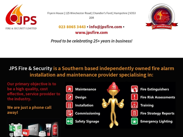 JPS Fire & Security Systems - Hampshire