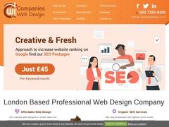 web Design Agency London- Companies Web Design