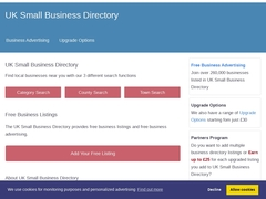 UK Small Business Directory - UK Business Listings Site