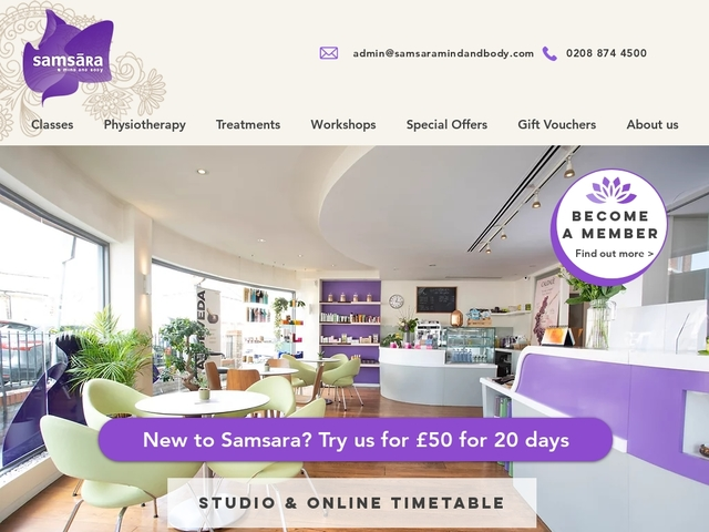 Yoga, Beauty & Massage in Wandsworth, London
