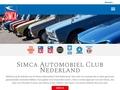 SIMCA AUTOMOBIEL CLUB NEDERLAND