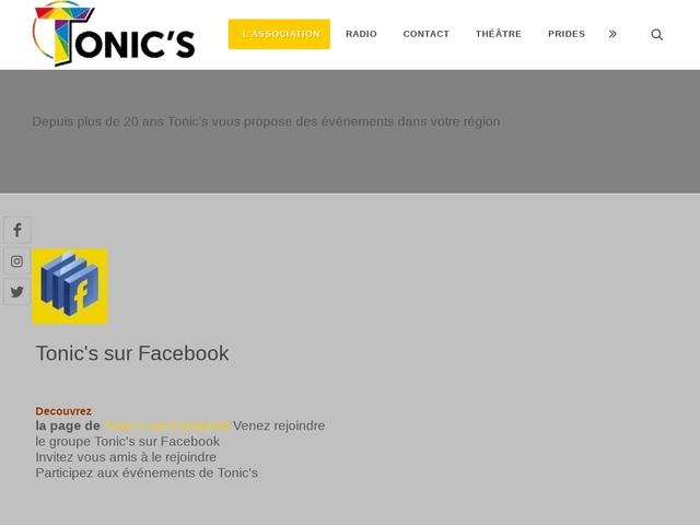 Tonic's Angers