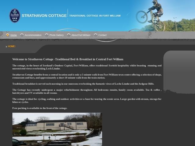 Strathavon Cottage - Fort William - Inverness - Scotland