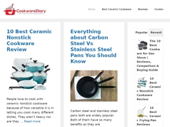 Cookware Diary | Best Ceramic Cookware Collection