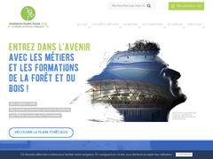Les Métiers de la Forêt et du Bois, Formations et Établissements