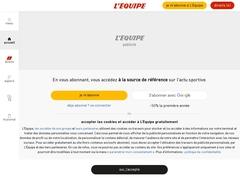 L'ÉQUIPE - L'actualité du sport en continu.