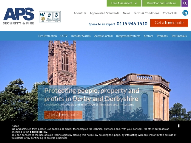 Fire Alarms & Security Systems in Nottingham & Derby