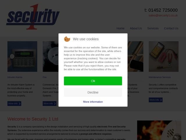 Security 1 ltd - Security and CCTV - Gloucester