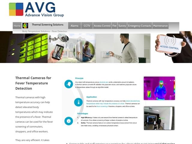 Advance Vision Group, Intruder Systems for Business and Homes