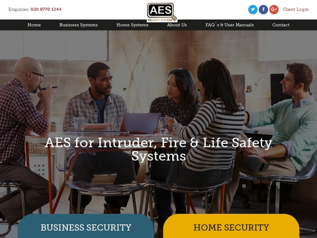 AES Fire and Security | Home and Business Alarm Systems