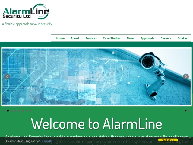 AlarmLine Security Ltd - AlarmLine.co.uk