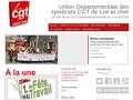 Union Départementale des syndicats CGT de Loir et Cher