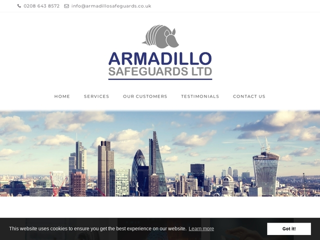 Armadillo Safeguards - Security Services