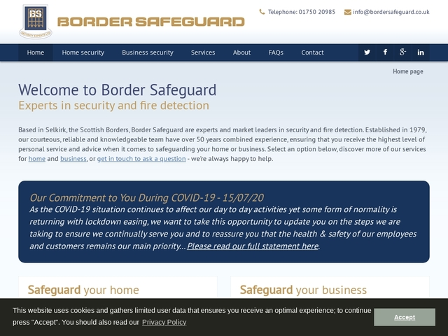 Border Safeguard | Experts in security and fire detection