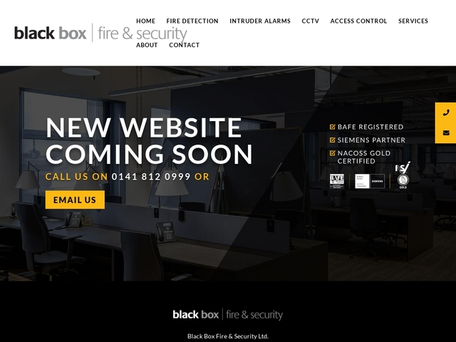 Black Box Fire & Security