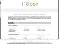118 box |  annuaire entreprises, commerces services |  118box