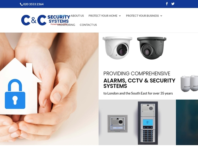 c and c security systems