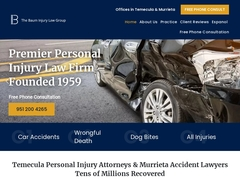 Vehicle Accident Injury Lawyers Temecula