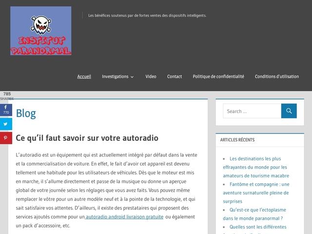 A la découverte du paranormal