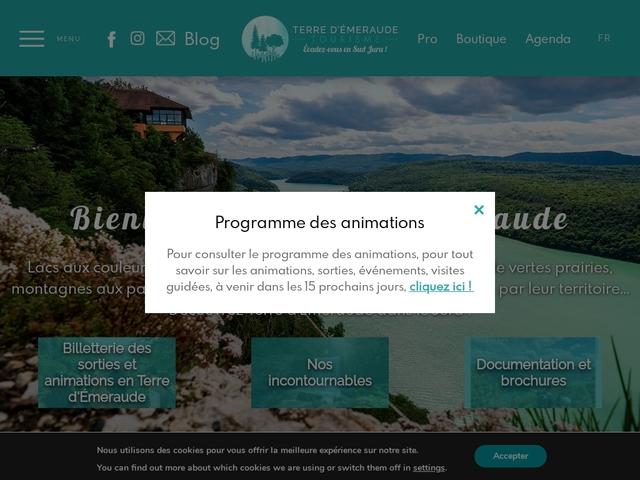 Pays Lacs et petite montagne Jura Office de Tourisme