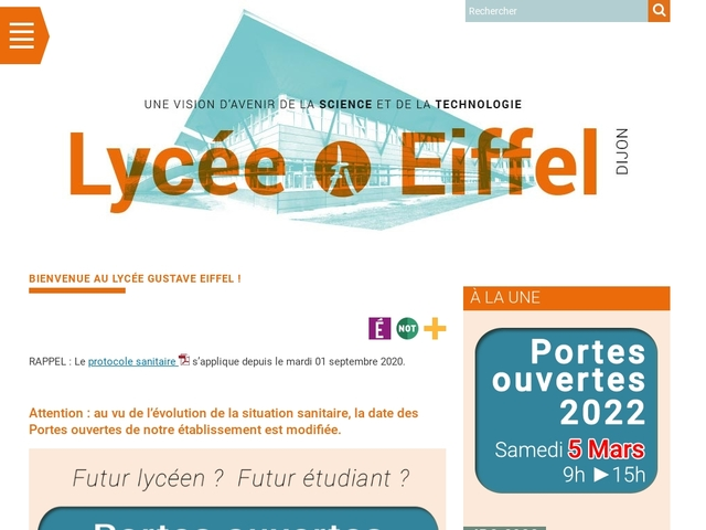 Lycée Gustave Eiffel (Dijon)