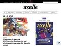 AXELLE - Magazine
