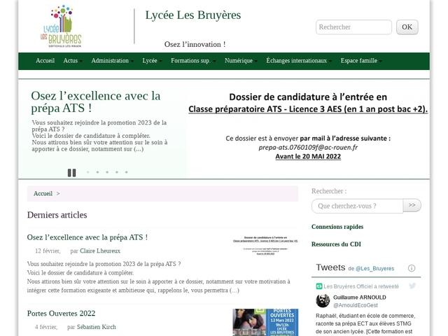 Lycée Les Bruyères (Sotteville les Rouen)