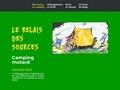 Le Relais des Sources, Camping motard