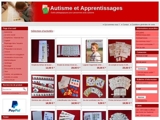 Autisme et apprentissages