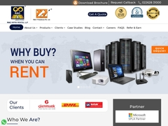 Server, computer and more on rent in India - RAC IT Solutions