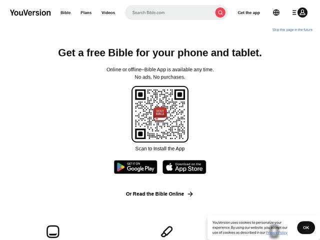 Aplicacion de la Biblia para el movil