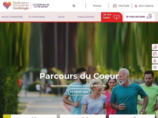 Bienvenue sur le site de la Fédération Française de Cardiologie   Fedecardio.com