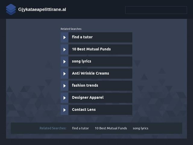 Gjykata e Apelit Tiranë