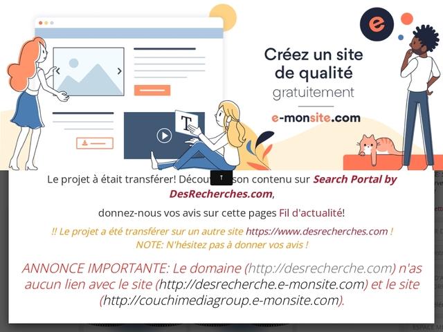 DesRecherche.e-monsite.com - La communauté Francophone !