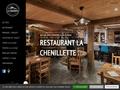 Détails : Restaurant La Clusaz La Chenillette