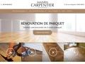 Ponçage parquet Maison Carpentier Paris