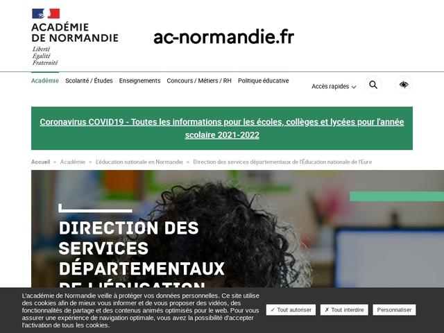 Direction des services départementaux de l'éducation nationale - Eure