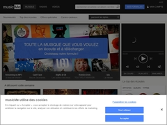 musicMe : musique gratuite, telechargement mp3, video-clips HD